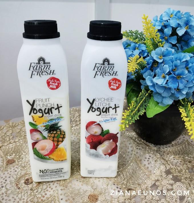 Sedap Perisa Baru Yogurt Farm Fresh