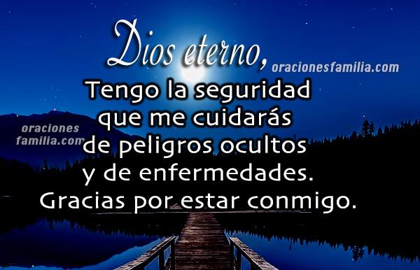 Oración corta para dormir tranquilo en la noche, frases cristianas con oración de la noche por Mery Bracho.