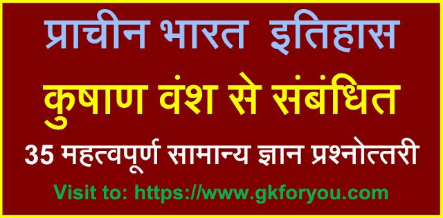 कुषाण वंश- Kushan dynasty Empire- कुषाण राजवंश: