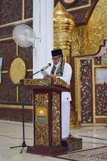 Wakil Gubernur Jambi Hadiri Istighosah dan Do'a Tolak Bala' Pengurus Wilayah Nahdlatul Ulama.