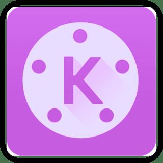 كين ماستر البنفسجي kinemaster logo