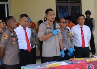 Polres Solok Arosuka Ungkap Sindikat Curanmor Lintas Provinsi