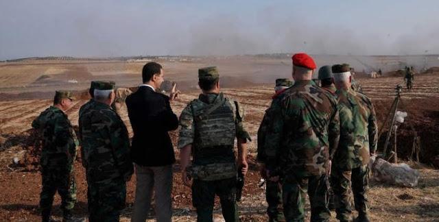 Blitzkrieg από τον Άσαντ σε δυο μέτωπα