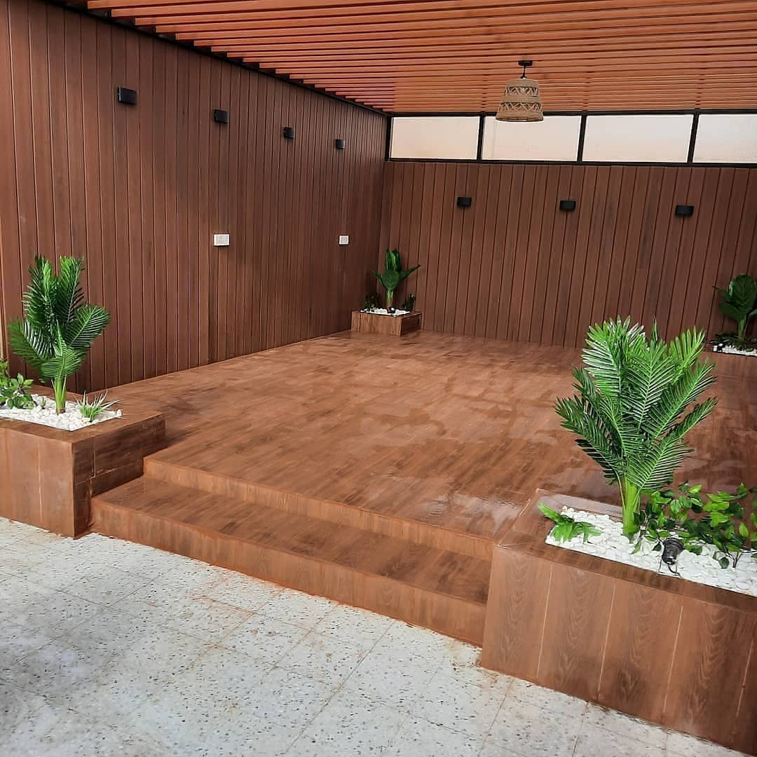 شركة تنسيق حدائق تزيين حدائق حوش الرياض.