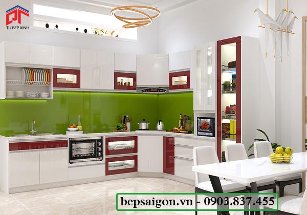 tu bep, tủ bếp, tủ bếp hiện đại, nội thất tủ bếp