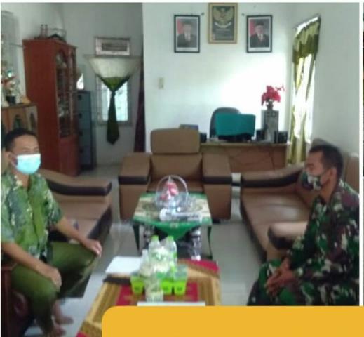 Tepatnya Di Panei Tongah Personel Jajaran Kodim 0207/Simalungun Laksanakan Komsos Dengan Pimpinan Ponpes Alkausar