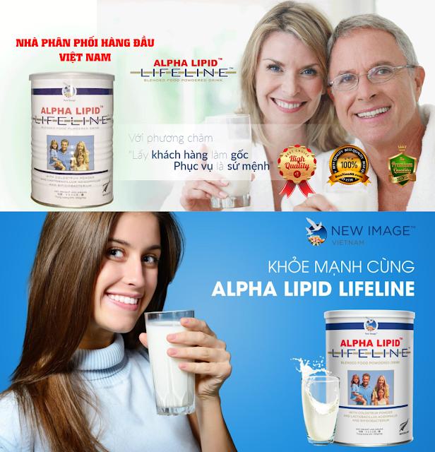 THỰC PHẨM BỔ SUNG sữa non ALPHA LIPID™ LIFELINE™ LÀ GÌ?