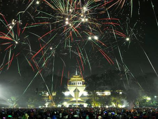 Malam Tahun Baru 2017 di Bandung