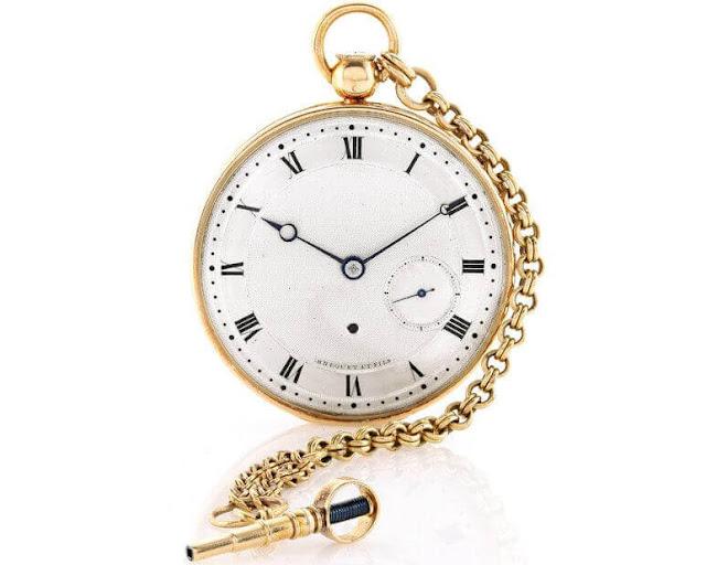 Brequet Pocket Watch 1970 BA/12  $734,000 [www.zainsbaba.com]
