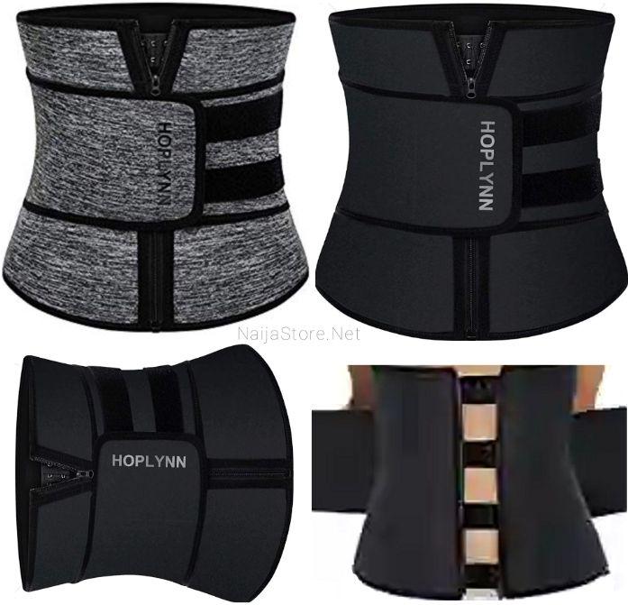 Women's Corsets: Hoplynn Tummy Trimmer Belt - Ladies Neoprene Weight-Loss Waist Cincher - Waistline Body Shaper