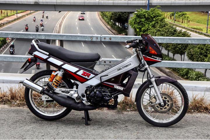 Xe 2 thì Yamaha ZR120 hàng hiếm tại Việt Nam - Huyền thoại một thời có giá bán 150 triệu đồng