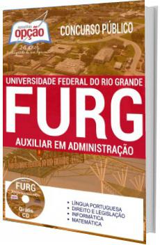 Apostila FURG 2017 Auxiliar em Administração