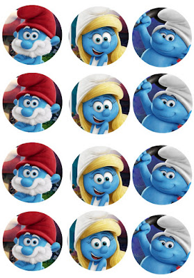 Smurfs Lost village party printables