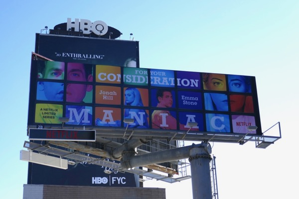 Maniac FYC billboard