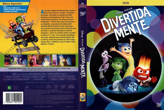 Capa DVD Divertidamente
