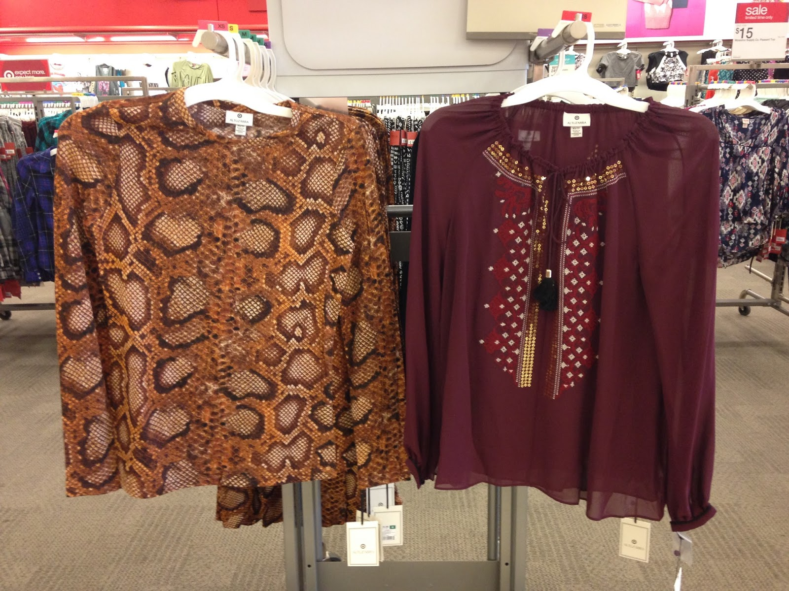 Tracy's Notebook of Style: Altuzarra for Target Store Pics +