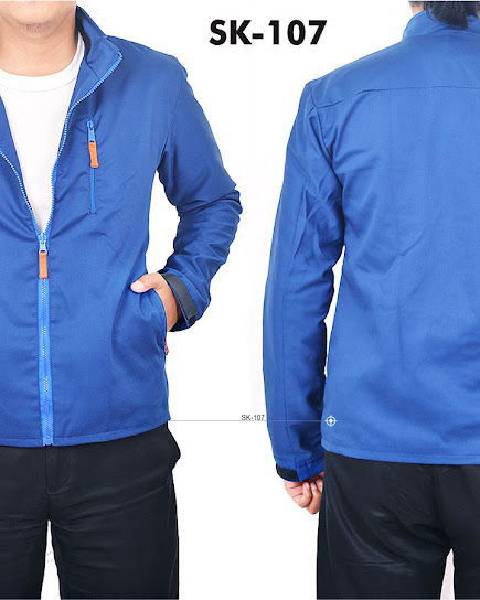 jas exclusive jaket biru