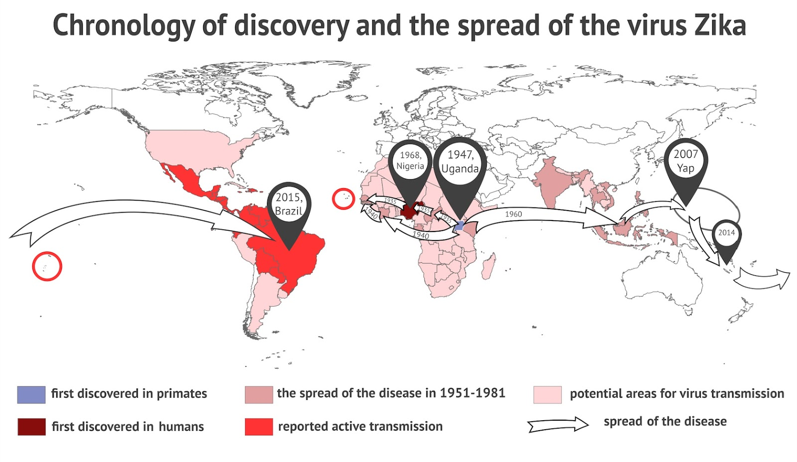 the world of viruses and its spread These are just some of the latest viruses to raise alarms around the world  it spread explosively, especially around south america and central america.