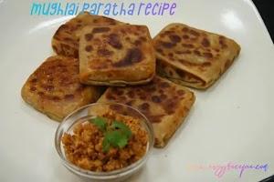 Delicious Veg Mughlai paratha recipe | Bengali Mughlai paratha