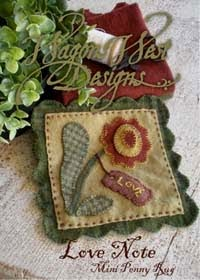 How to Mark Wool Applique