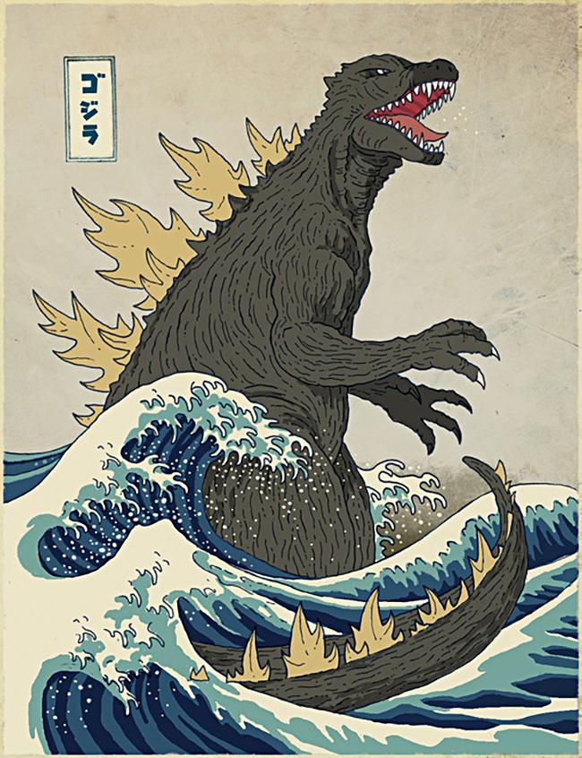 Michael Buxton aka DinoMike (UK) - Godzilla design