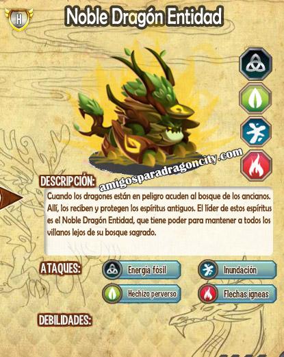 imagen de las caracteristicas del noble dragon entidad