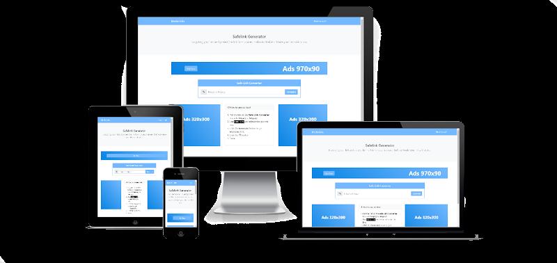 New Safelink Bootstrap 2