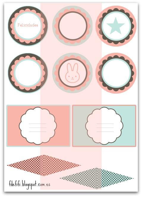 Mini Kit imprimible para fiestas