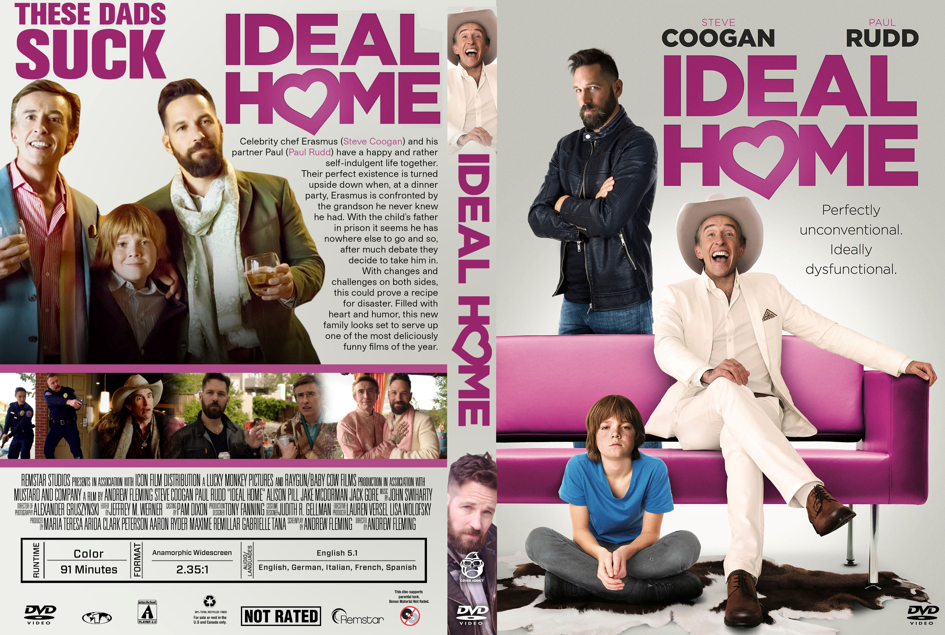 ideal home dvd cover cover addict dvd bluray covers and movie rh cover addict com home alone 3 dvd cover home alone 2 dvd cover