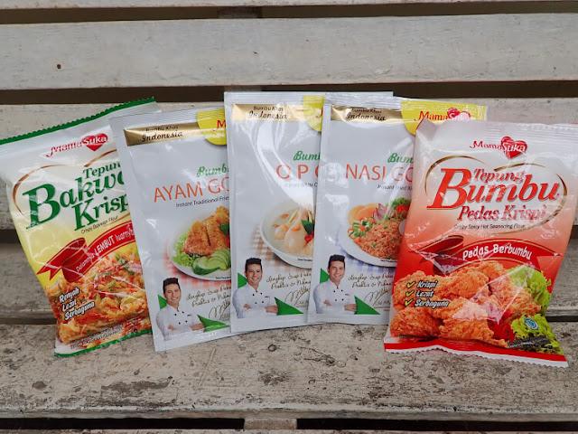 mamasuka, menu harian, resep, bumbu masak instant