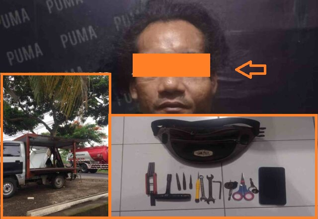Begal Beraksi di Pengkolan Marong Lombok Tengah, Pelaku dari Bilelando Diciduk Polisi di Awang Desa Mertak