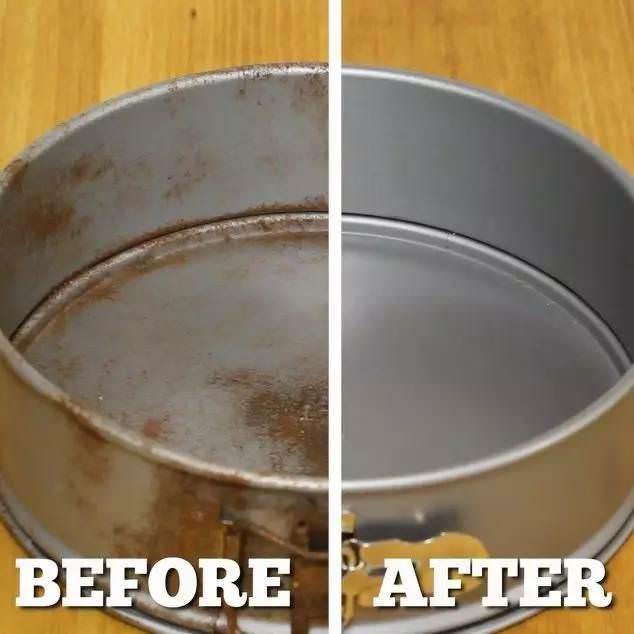 家裡的鍋生鏽怎麼辦?偷偷教你一招。快速有效!