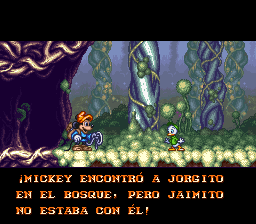 magical quest 3 español
