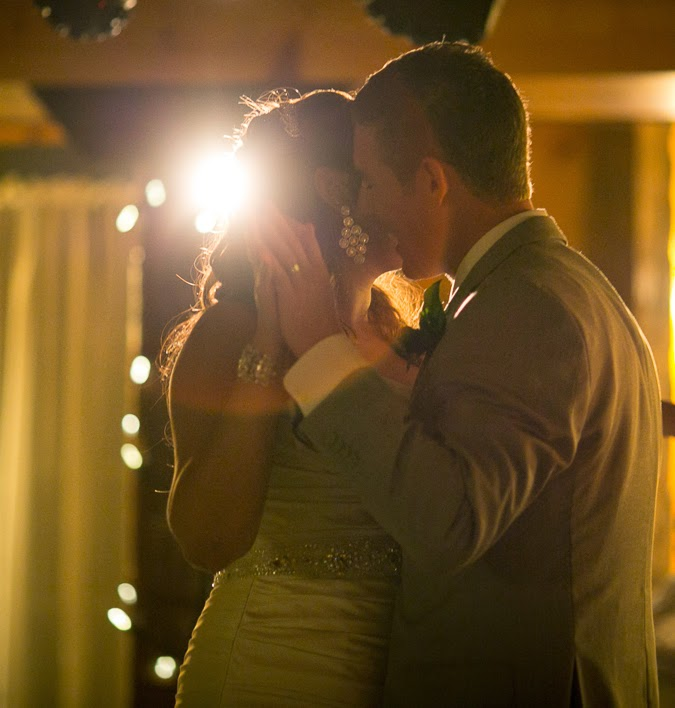 First dance lighting and photography