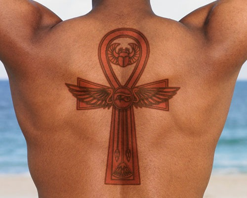The tattoo world egyptian tattoos with meanings for Cross tattoo under left eye meaning