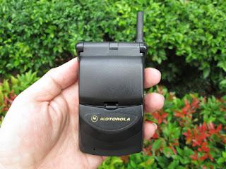 Hape Jadul Motorola StarTac 130 Seken Mulus Normal Kolektor Item