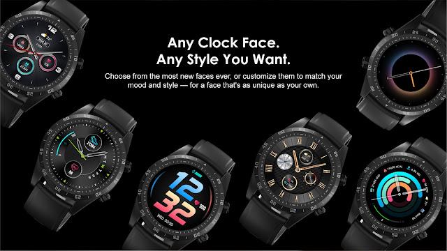 Smart Watch Oraimo OSW-20 waterproof Ecran tactile noire   Meilleur Prix Maroc   Fiche technique   Marrakech