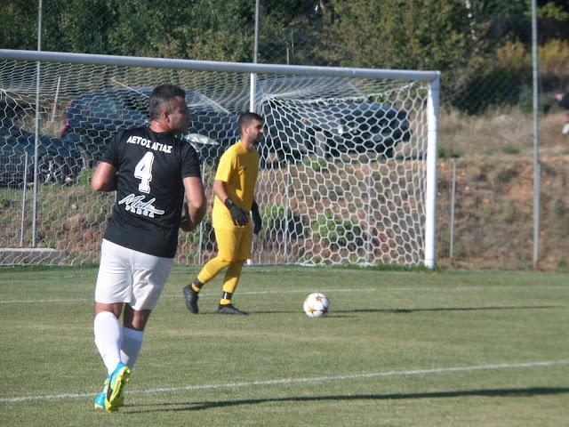 Πρεμιέρα για Αετό Αγιάς και ΑΟ Μύτικα εχθές Κυριακή 27 Σεπτεμβρίου και ώρα 16:00 στο γήπεδο Αγιάς για την 1η αγωνιστική της Α ΕΠΣ Πρέβεζας-Λευκάδας, με τους παίχτες του Μουστάκα να μπαίνουν με το δεξί στο πρωτάθλημα με τελικό σκορ 3-1.