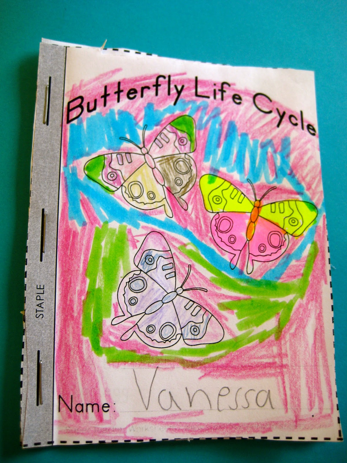 Ms Liebel S Classroom Mini Butterfly Book