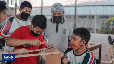 kegiatan siswa dalam bidang seni di masa pandemi