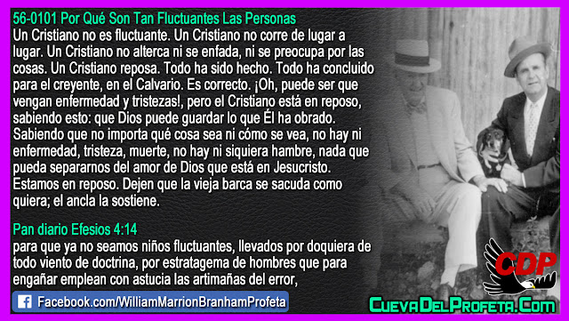 Un Cristiano no es fluctuante - William Branham en Español