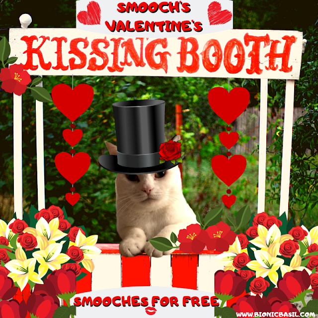 Smooch's Valentine's Kissing Booth 2021 ©BionicBasil®
