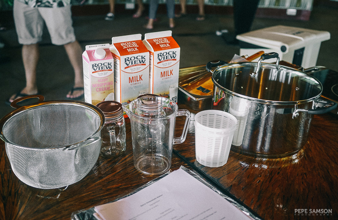 Cheesemaking workshop Real California Milk
