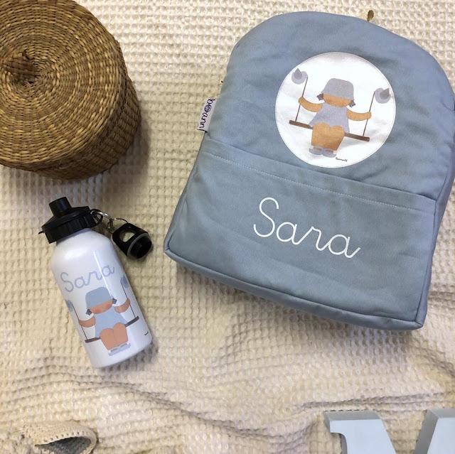 mochila infantil cole personalizada