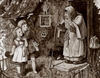 Hansel y Gretel y la casa de dulces