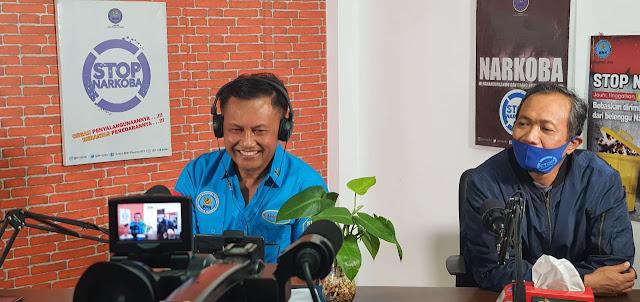 BNNP NTB Dan FIAN Prov NTB Gelar Webinar Dengan Tema Hidup 100 %