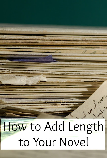 How to Add Length to Your Novel
