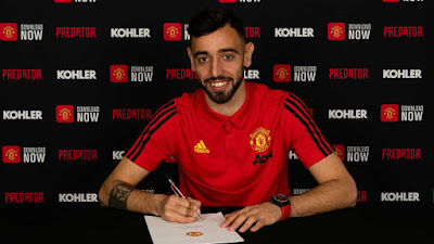 Bruno Fernandes Completes €55m Move To Man Utd