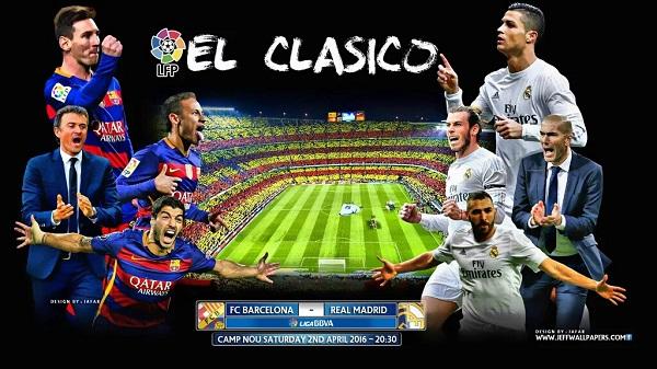 Assistir Jogo do Barcelona x Real Madrid hoje ao vivo 2016 - Classico