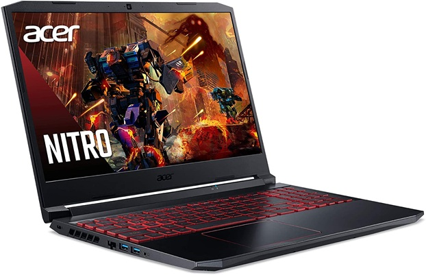 Acer Nitro 5 AN515-55-59KS: gaming laptop with NVIDIA graphics, 144 Hz display and Wi-Fi 6